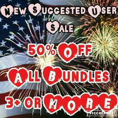 50% Off All Bundles 3 or More PLEASE SHARE New Suggested User Sale! 50% off all bundles of 3 or more. Sale begins Friday May 27 ends Monday May 30. Just tell me which items you want and I'll create a new listing for you American Eagle Outfitters Jeans