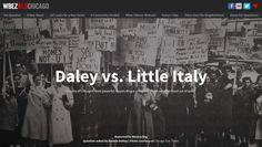 Daley vs. Little Italy, WBEZ