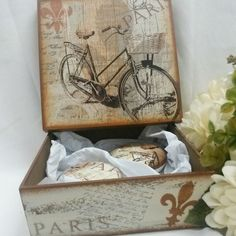 CAIXA COM SABONETES #caixa, #presente #lembrançacasamento #lembrançamadrinha…