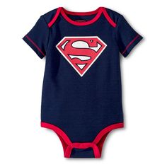 a1e6cc2fd6a7e Superman Baby Boys  Bodysuit - Navy 0-3 M Size  0-3M