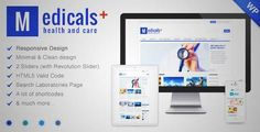 Download and review of Medicals Health & Medical WordPress Theme, one of the best Themeforest Retail themes Review and download at http://best-wordpress-theme.net/medicals-health-amp-medical-download-review/