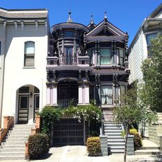 Pin for Later: Gothic Homes So Gorgeous, We Wouldn't Mind If They Were Haunted!  San Francisco is filled with gorgeous homes like this one.