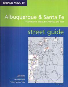 rand mcnally albuquerque santa fe taos streetfinder usa streetfinder atlas