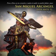 San Miguel Arcángel defiéndenos en la batalla.