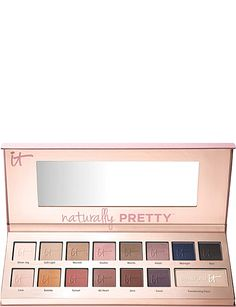 IT COSMETICS Naturally Pretty Matte Luxe Transforming Eyeshadow Palette