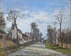 CP 1870 La route de Versailles à Louveciennes 3b fl - clarkart_edu 1955 | par petrus.agricola