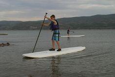 Utah Adventure Kids - Paddle boarding with kids in Utah! Tips and Tricks... Website has lots of adventures in Utah.