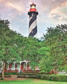 Lighthouse - Saint Augustine, Florida-actually walked inside to the top a few years ago.