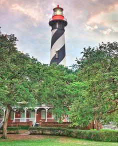 Lighthouse - Saint Augustine, Florida