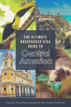The Ultimate Backpacker Visa Guide to Central America. A comprehensive guide to all of the travel visa requirements for every country in Central America! Incredibly helpful for travel planning!