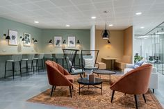 Inside Central Working's Cool Coworking Space in Reading Inside Central Workings Cool Coworking Space in Reading – Officelovin' Home Office, Office Lounge, Cool Office Space, Office Workspace, Office Spaces, Coworking Space, Space Interiors, Office Interiors, Corporate Interiors