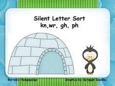 1000 images about 3rd grade silent letter blends on pinterest letters letter activities and. Black Bedroom Furniture Sets. Home Design Ideas