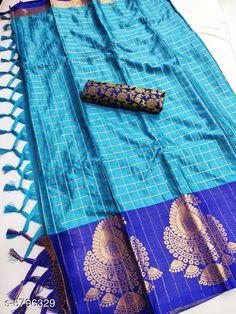 Sarees  Siya Attractive Cotton silk  Sarees  Saree Fabric: Cotton Silk Blouse: Separate Blouse Piece Blouse Fabric: Silk Multipack: Single Sizes:  Free Size (Saree Length Size: 5.5 m Blouse Length Size: 0.8 m) Country of Origin: India Sizes Available: Free Size   Catalog Rating: ★4 (420)  Catalog Name: Abhisarika Petite Sarees CatalogID_1084456 C74-SC1004 Code: 095-6796329-4161