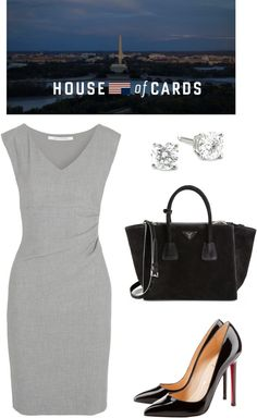 House of Cards inspired outfit