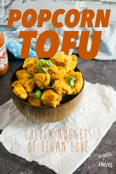 Missing that crunchy, salty popcorn chicken at your favorite drive through? Well, look no further because this vegan popcorn tofu recipe will make you forget you even liked the unhealthy alternative to begin with.