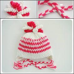 MOTEK KO WYROBY RĘCZNE ciepła czapka na zimę :)
