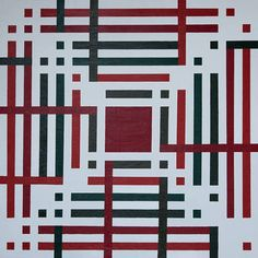 Red and green maze (Limited Edition 4 of 10)