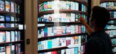 Photo Tour: Google's Surprise-Filled New York City Office, Including Digital Bookshelf #Technology