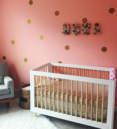 DIY floral letters for baby girl nursery with step-by-step photos      Forever Fireflying
