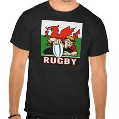 """Rugby player scoring try wales flag t-shirts. illustration of a Rugby player scoring try viewed from front with wales or welsh flag in background and words """"rugby"""". Wales Flag, White Headphones, Rugby Players, Tee Shirts, Tees, Tee Design, Logo Design, Graphic Design, My Guy"""