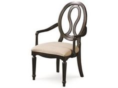 Universal Furniture Summer Hill Midnight Dining Arm Chair (Sold in 2)