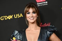 Delta Goodrem Photos - Delta Goodrem attends 2018 G'Day USA Los Angeles Black Tie Gala at InterContinental Los Angeles Downtown on January 27, 2018 in Los Angeles, California. - 2018 G'Day USA Los Angeles Black Tie Gala - Arrivals
