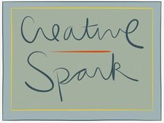 Sign up for a free course, Creative Spark, right now!