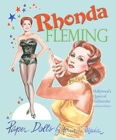 Rhonda Fleming paper doll   Rhonda Fleming Paper Dolls by Norma Lu Meehan [Hollywood's Queen of ...