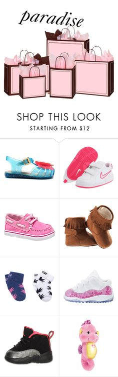 """""""Merry Christmas Baby Girl"""" by lucas-king ❤ liked on Polyvore featuring beauty, Melissa, NIKE, Gymboree, Sperry, H&M, Dr. Brown's, Retrò and Fisher Price"""