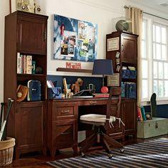 Hampton Desk + Storage Tower Set | PBteen