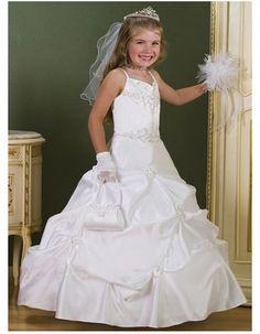 3e7d0f4192f8 Find gorgeous ball gown sweetheart beaded white first communion dresses,  custom pick-up full · Flower Girl ...