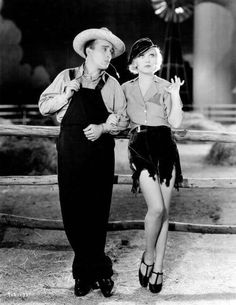 """Bing Crosby & Marion Davies in the Pre-Code musical """" Going Hollywood c. 1933"""