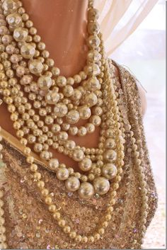 Pearls... And other old & vintage costume jewellry