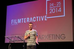 "Daniel Ciupryk (MC Silk) presenting ""How to earn first Million on You Tube?"""