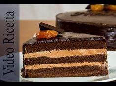 Torta al Cioccolato PRAGA - La variante Russa della torta Sacher. Una vera delizia! - YouTube