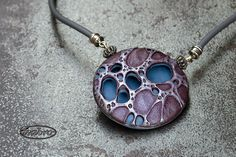 Polymer Clay Pendant from ivabro.com