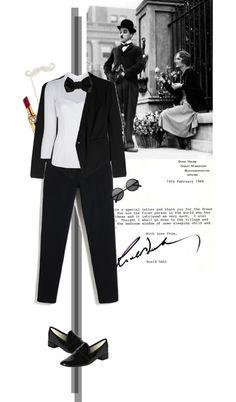 """""""hi chaplin lady"""" by letterelle ❤ liked on Polyvore"""