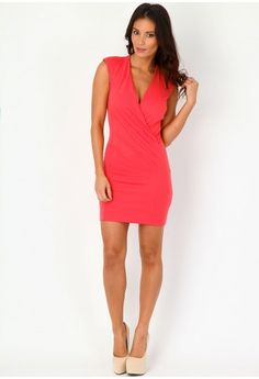 Zeena Tailored Sleeveless Dress - dresses - missguided
