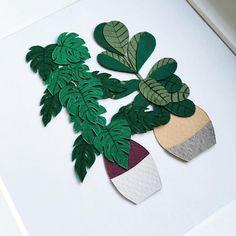 Paper craft cactus