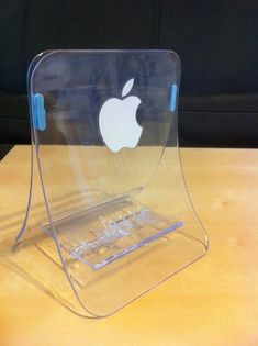macbook air stand made out of ikea napkin holder