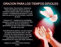 Oración para tiempos Dificiles