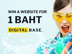 Win a Website Thing 1, Bangkok Thailand, Competition, Base, Social Media, Posts, Marketing, Website, Digital