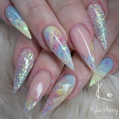 What Christmas manicure to choose for a festive mood - My Nails Cute Acrylic Nail Designs, Best Acrylic Nails, Summer Acrylic Nails, Fabulous Nails, Gorgeous Nails, Pretty Nails, Nail Swag, Fire Nails, Luxury Nails