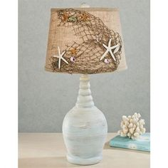 Seaside Coastal Table Lamp
