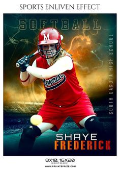 SHAYE FREDERICK-SOFTBALL - SPORTS ENLIVEN EFFECT