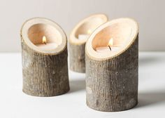 Tree Branch Candle Holders Set of 3 Short Angled- Rustic Wood Candle Holders, Tree Slice, Wooden Candle Holders, Wedding Centerpiece ideas in usa tree houses Cet article n'est pas disponible Rustic Candle Holders, Rustic Candles, Candle Holders Wedding, Candle Holder Set, Diy Candles, Rustic Wood, Rustic Table, Diy Table, Arte Pallet