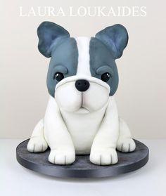 Beau The French Bulldog by Laura Loukaides