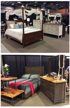 The GF team is out searching for the best of Made in America furniture to bring back for amazing customers. Which of these bedroom sets do you like most? #shopGF | Houston, TX | Gallery Furniture |