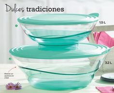 Tupperware Sheerly Elegant Acrylic Bowl Set New! Kitchenware, Tableware, Kitchen Gadgets, Bowl Set, Lunch Box, Desserts, Food, Pastel Kitchen, Kitchen Equipment