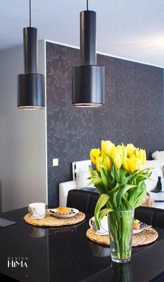 Keittiö / Himasta New Kitchen, Interior, Lamps, Inspiration, Home, Design, Lightbulbs, Biblical Inspiration, Indoor